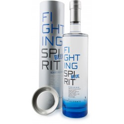 CHANTAL COMTE - Fighting Spirit Blue, rhum blanc agricole AOC 70cl 50° - Martinique