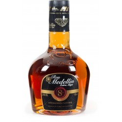 MEDELLIN - Extra Anejo 8 ans, rhum vieux 70cl 38° - Colombie