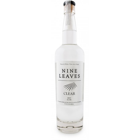 NINE LEAVES - Clear, rhum blanc - Japon
