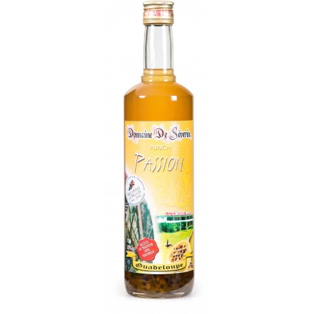 DOMAINE DE SEVERIN - Punch Passion, 70cl 30° - Guadeloupe
