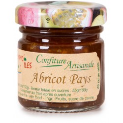 GOURMAND'ILES - Abricot pays, confiture artisanale 50g - Martinique