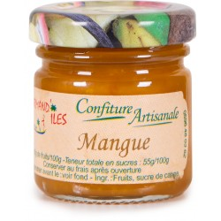 GOURMAND'ILES - Mangue, confiture artisanale 50g - Martinique