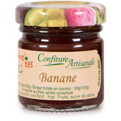 GOURMAND'ILES - Banane, confiture artisanale 50g - Martinique
