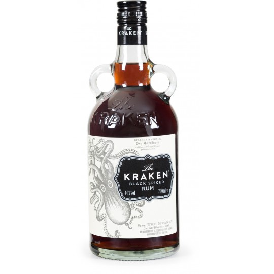 THE KRAKEN - Black Spiced Rum, rhum épicé 70cl 40° - Caraïbes