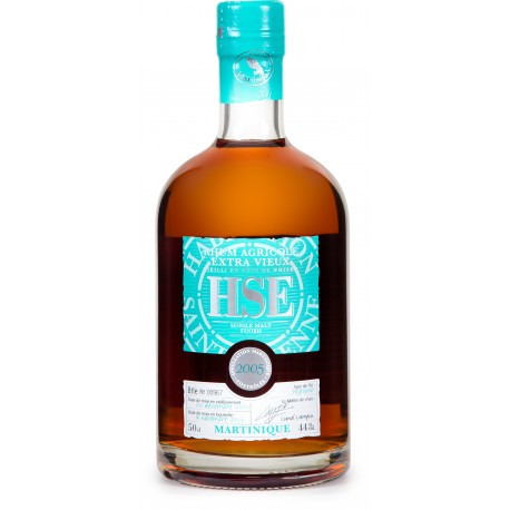 HSE - Single malt finish Highland 2005, rhum extra vieux agricole AOC 50cl 44° - Martinique