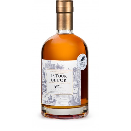 CHANTAL COMTE - la Tour de l'Or, Bourbon Finish, rhum vieux agricole AOC 70cl 46.5° - Martinique
