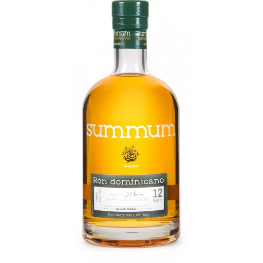 SUMMUM - Finished malt whisky 12, rhum vieux 70cl 43% - République Dominicaine