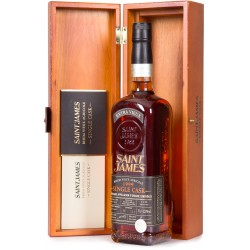 SAINT JAMES - Single Cask Millésime 1999, rhum vieux agricole AOC 70cl 42.9° - Martinique