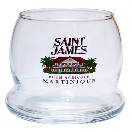 SAINT JAMES - 6 verres à punch Culbuto 20cl - Martinique
