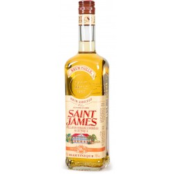 SAINT JAMES - Rhum Paille, rhum ambré agricole AOC 70cl 50° - Martinique