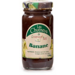 GOURMAND'ILES - Banane, chutney 120g - Martinique