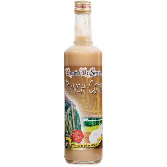 DOMAINE DE SEVERIN - Punch Coco, 70cl 20° - Guadeloupe