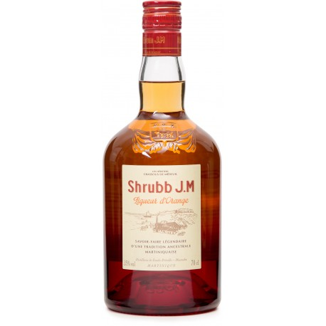 JM - Shubb, liqueur orange 70cl  35° - Martinique
