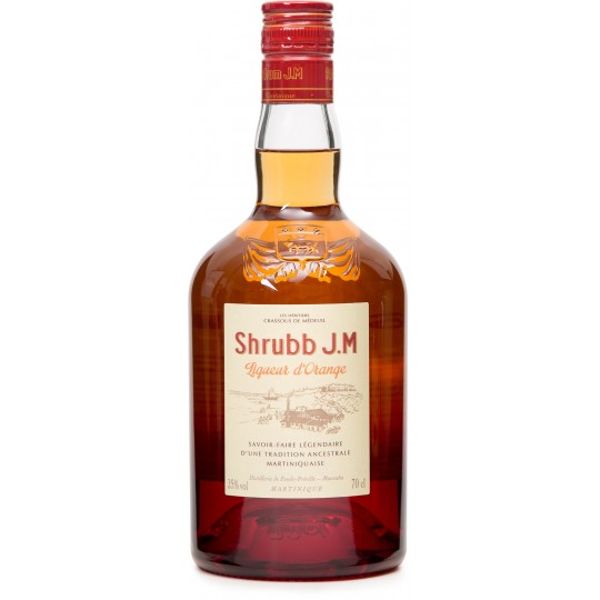 JM - Shrubb, liqueur orange 70cl  35° - Martinique