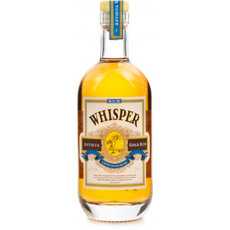WHISPER - Gold, rhum ambré 70cl 40° - Antigua