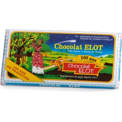 ELOT - Chocolat Pur Cacao & Sucre de Canne 100g - Martinique