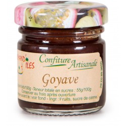 GOURMAND'ILES - Goyave, confiture artisanale 50g - Martinique