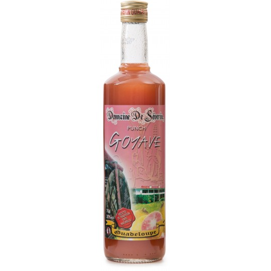 DOMAINE DE SEVERIN - Punch goyave  70cl - Guadeloupe