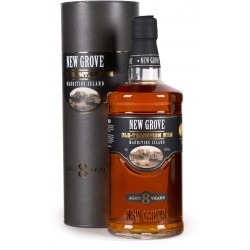 NEW GROVE - 8 ans Old Tradition, rhum vieux 70cl 40° - Ile Maurice