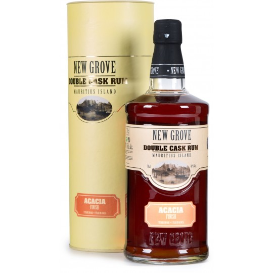 NEW GROVE - Acacia Finish Double Cask, rhum vieux 70cl 47° - Ile Maurice