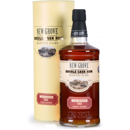 NEW GROVE - Merisier Finish Double Cask, rhum vieux 70cl 47° - Ile Maurice
