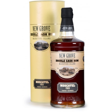 NEW GROVE - Moscatel Finish Double Cask, rhum vieux 70cl 47° - Ile Maurice