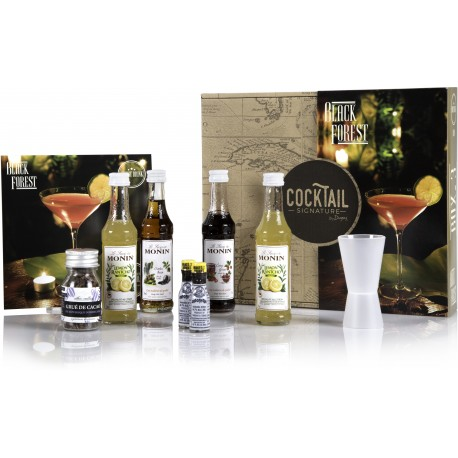 BOX BLACK FOREST – Cocktail Signature by Dugas – (Pour 5 verres)