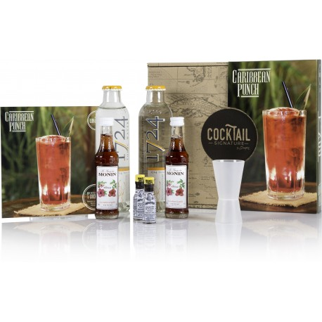 BOX CARIBBEAN PUNCH - Cocktail Signature by Dugas