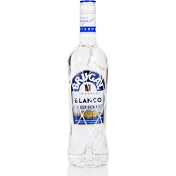 BRUGAL - Blanco Extra Dry, rhum blanc, 70cl 40° - République Dominicaine