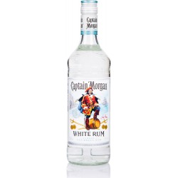 CAPTAIN MORGAN - White rum, rhum blanc, 70cl 37,5° - Jamaïque