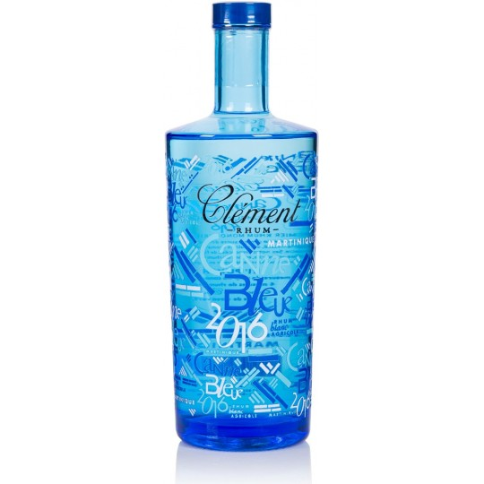 CLEMENT - Canne Bleue 2016, rhum agricole blanc 70 cl 50° - Martinique