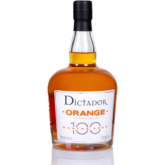 DICTADOR - 100 Months Orange, liqueur d'orange 70cl 40° - Colombie
