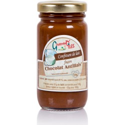 GOURMAND'ILES - Chocolat antillais, confiture au lait artisanale 120g - Martinique