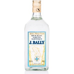 J.BALLY - rhum blanc agricole 1L 55° - Martinique