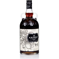 THE KRAKEN - Black Spiced Rum 47, rhum épicé 1L 47° - Caraïbes
