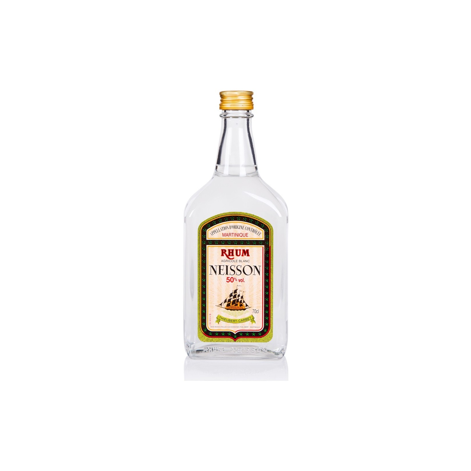 NEISSON- rhum blanc 70cl 50°- Martinique