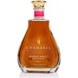 CHAMAREL - Finition Single Malt, rhum vieux 70cl 45° - Ile Maurice