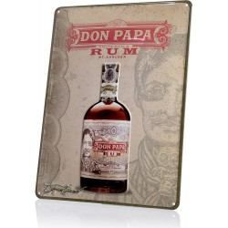 Plaque Don papa