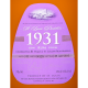 SANTA LUCIA distillers - 1931 2EME EDITION celebrating 81 years, rhum vieux 70cl 43° - St Lucia
