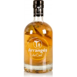 LES RHUMS DE CED' - Ti'arrangé Mangue passion, rhum arrangé 70cl 32°