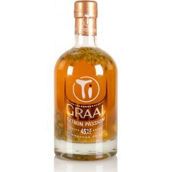 LES RHUMS DE CED' -  Ti'arrangé Citron passion, rhum arrangé 70cl 45,4°
