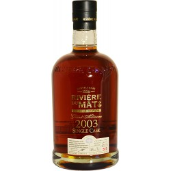 Riviere Du Mât Single Cask 2003 - 70cl 46°