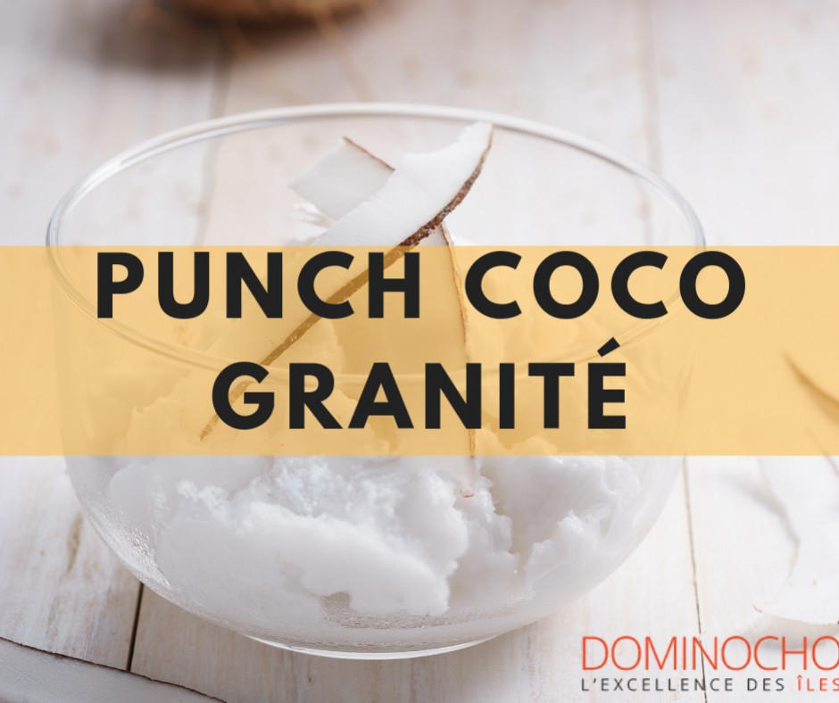 Punch coco granité